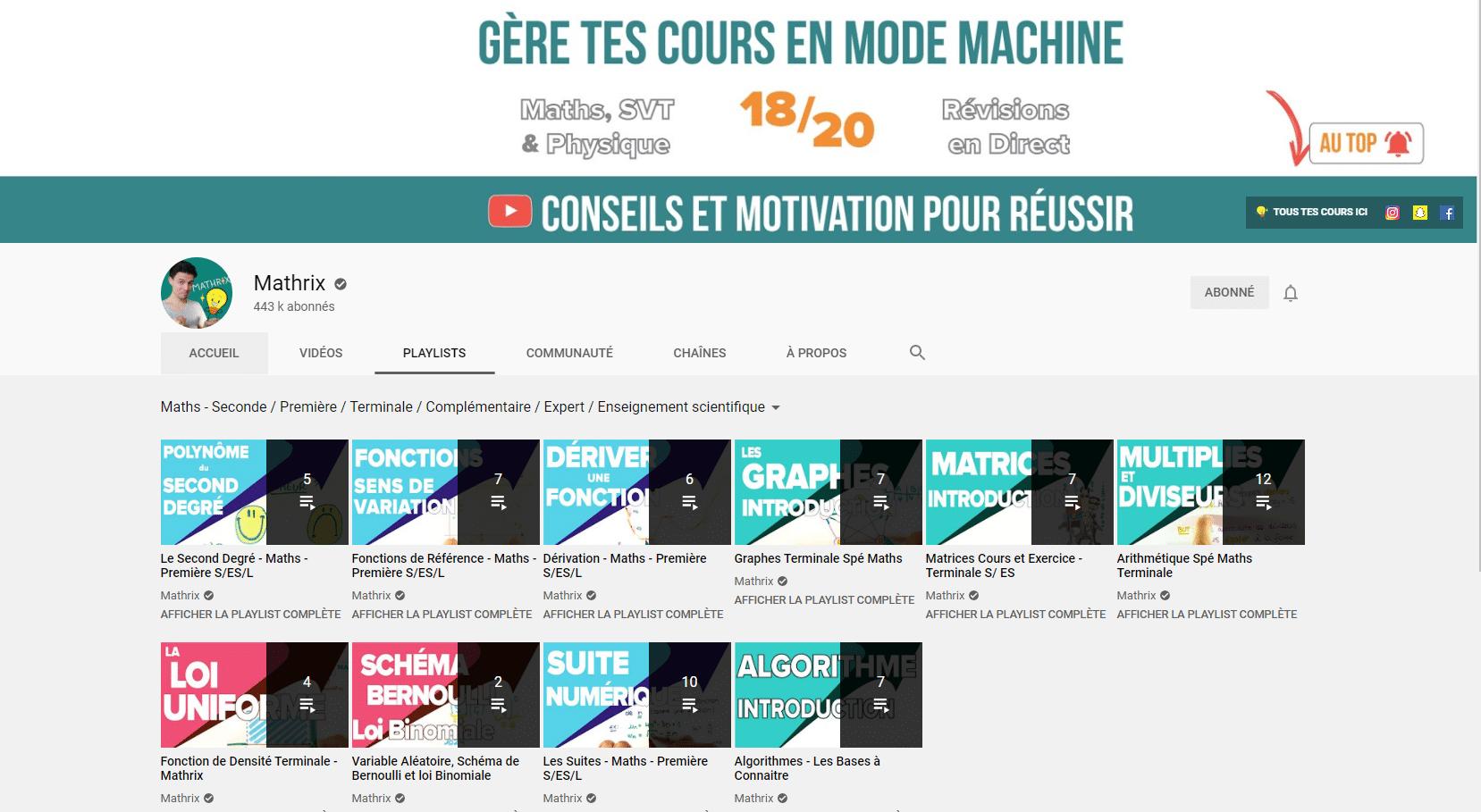 maths youtube